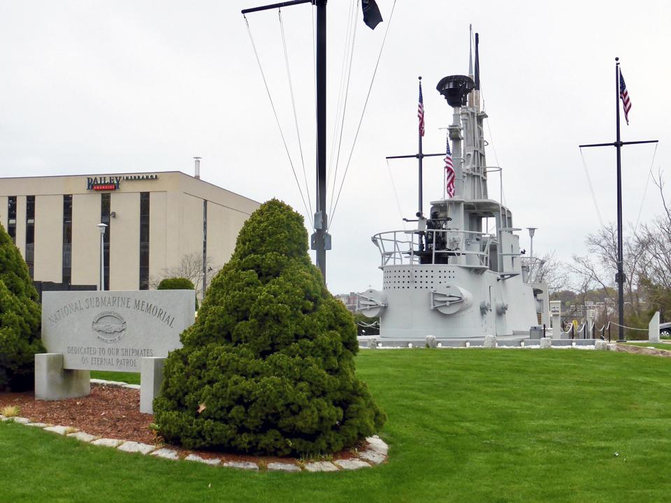 National Submarine Memorial, Groton, Connecticut