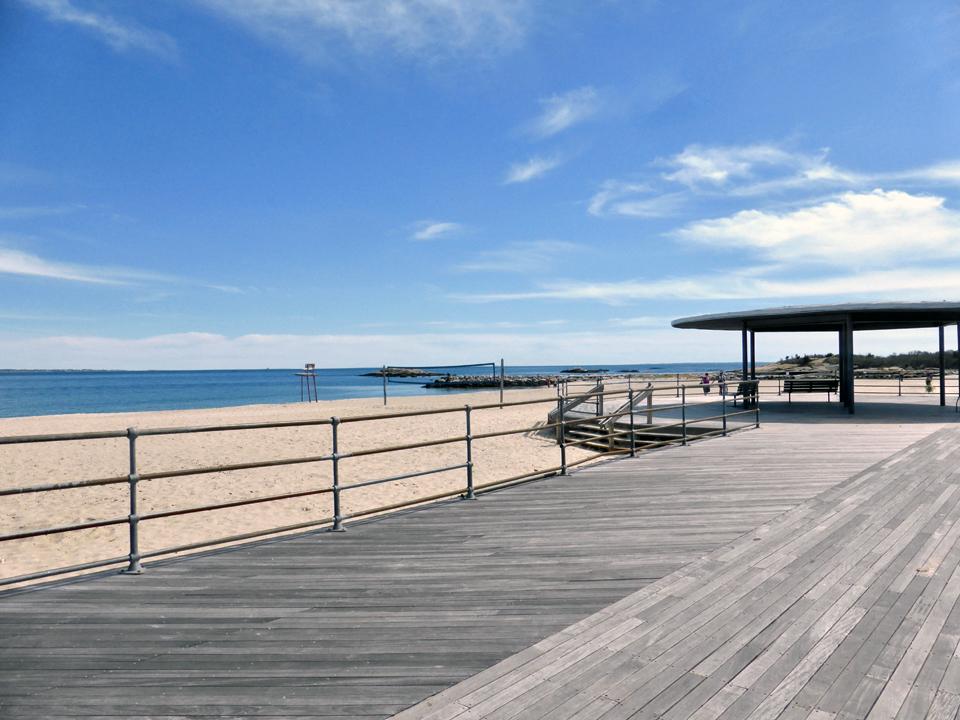 boardwalk, Ocean Beach Park, New London, Connecticut