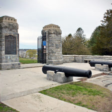 entrance to Fort Griswold, Groton, Connecticut