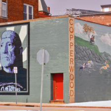 Willie Nelson mural, New London, Connecticut