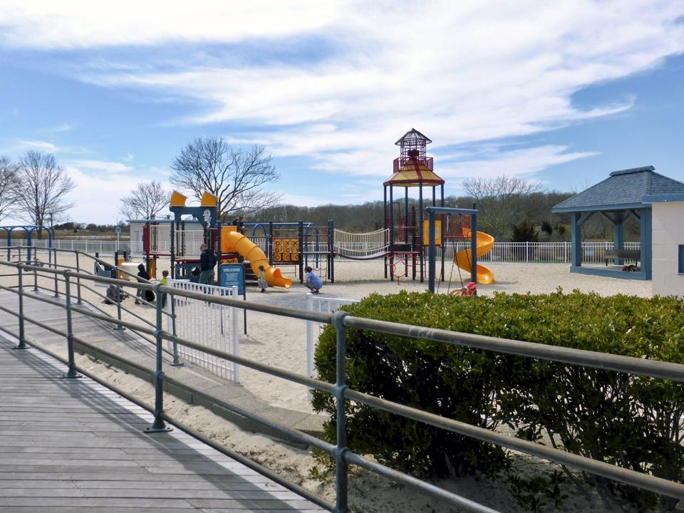 playground, Ocean Beach Park, New London, Connecticut