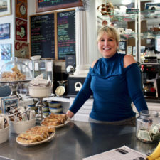 Sue Devlin, co-owner of Muddy Waters, New London, Connecticut