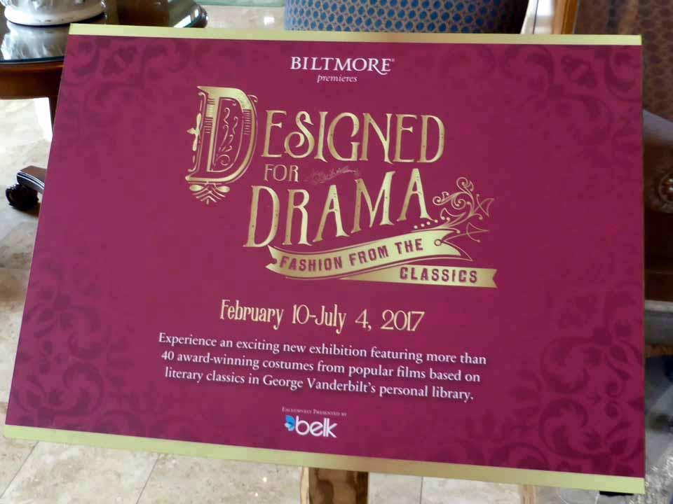 Designed For Drama Sign Biltmore Asheville Notable Travels Notable Travels