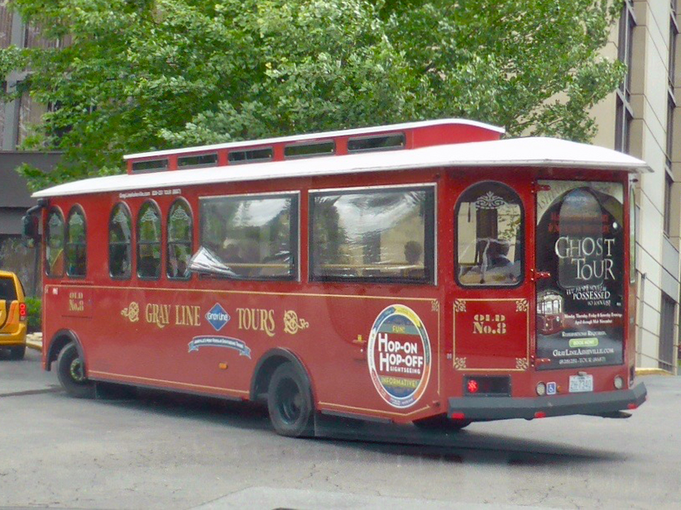 Hop-On Hop-Off Trolley, Asheville, NC