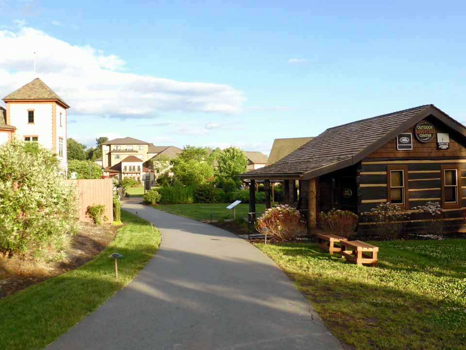 Outdoor Adventure Center, Antler Hill Village, Biltmore Estate, Asheville