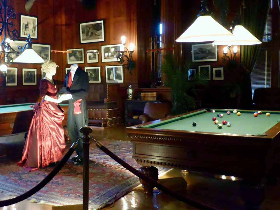 billiard room, Biltmore House, Asheville, North Carolina