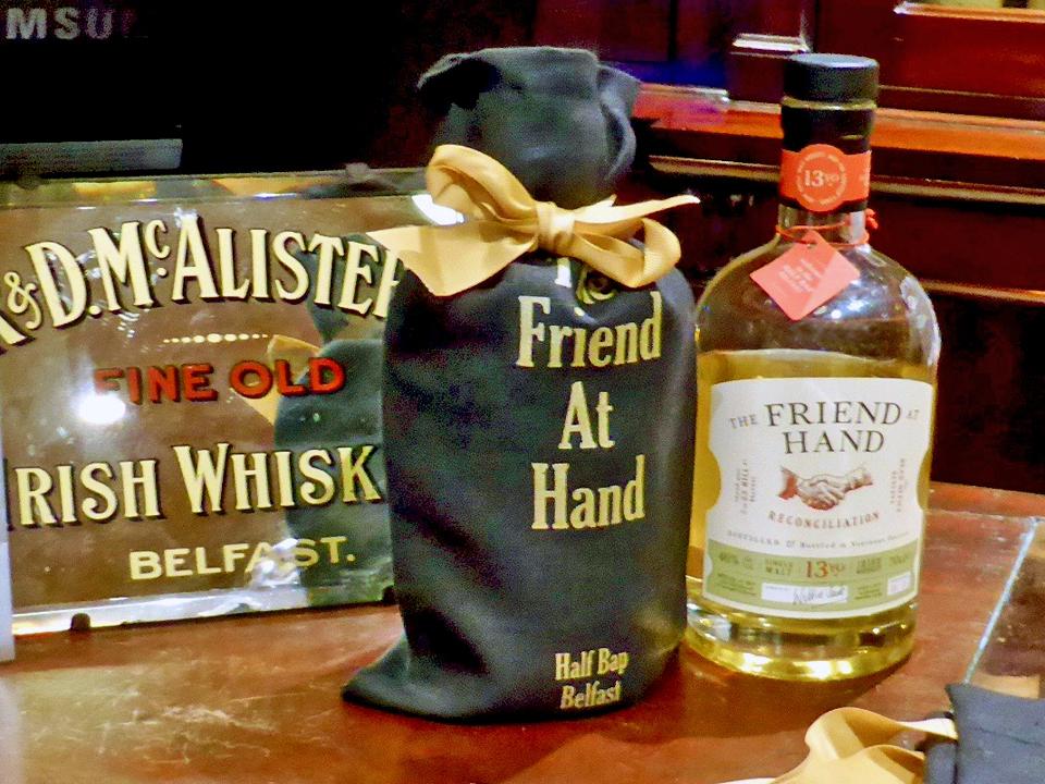 Friend in Hand whiskey, Belfast, Northern Ireland
