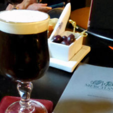 Irish coffee. Belfast, Northern Ireland