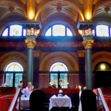 Merchant Hotel's Great Room restaurant, Belfast, Northern Ireland