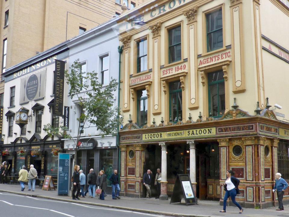 The Crown Liquor Saloon, Belfast, Northern Ireland