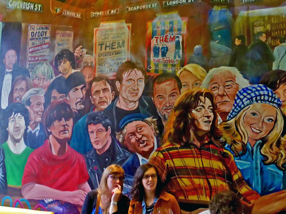 mural, Commercial Court area, Belfast, Northern Ireland