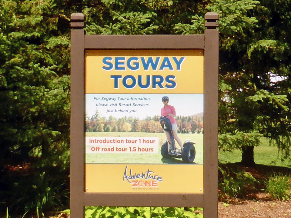 Segway Tours, Okemo Mountain Resort