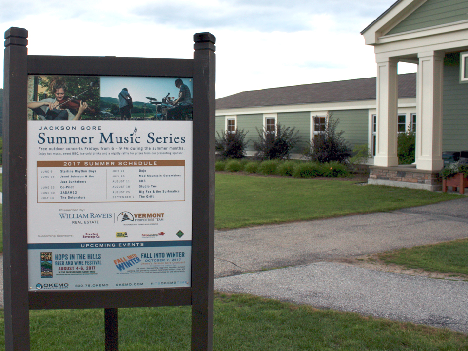Summer Music Series, Jackson Gore Inn, Okemo Mountain Resort
