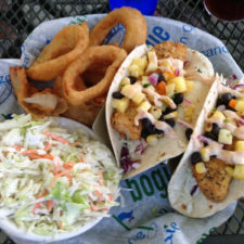 Two Fish Tacos, Willy Dunn's Grille, Ludlow, Vermont