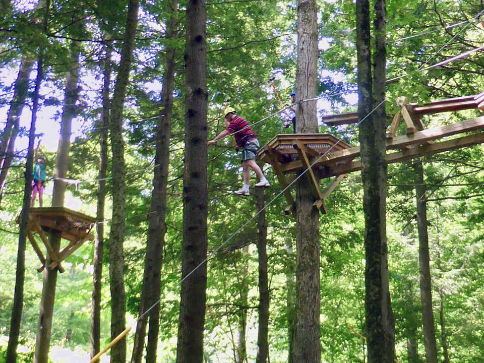 Adventure Zone Challenge Course, Okemo Mountain Resort