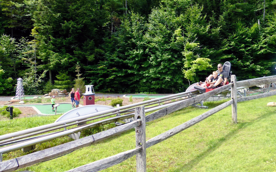 Mini Golf and Mountain Coaster Adventure, Adventure Zone, Okemo Mountain Resort