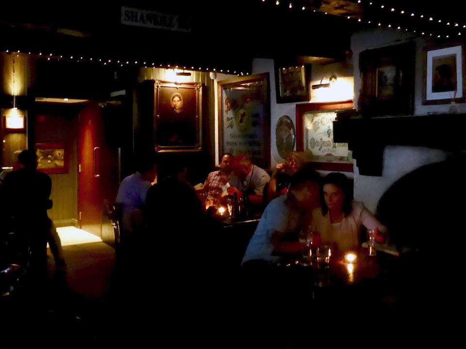 Belfast pub scene