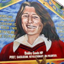 Bobby Sands mural, Belfast, Northern Ireland