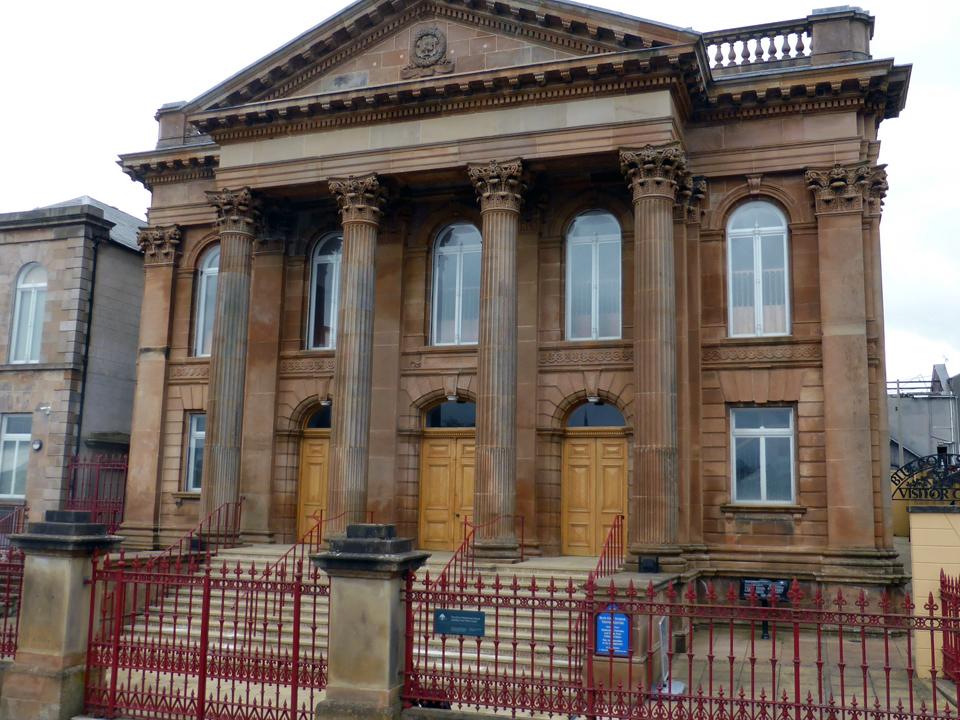 First Derry Presbyterian Church building, Londonderry, Northern Ireland