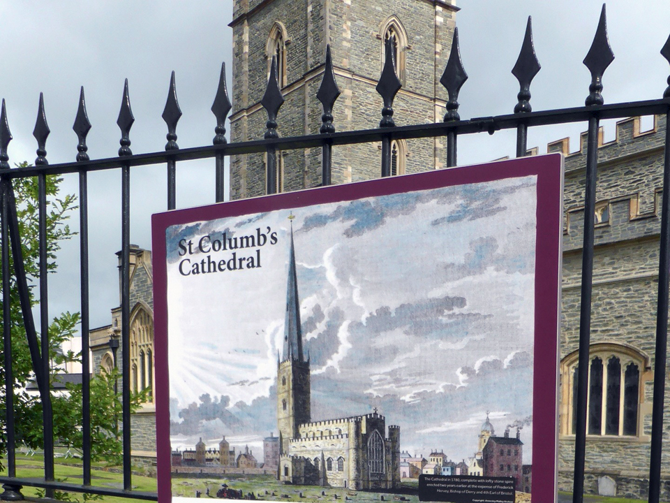 St. Columb's Cathedral, Londonderry, Northern Ireland.