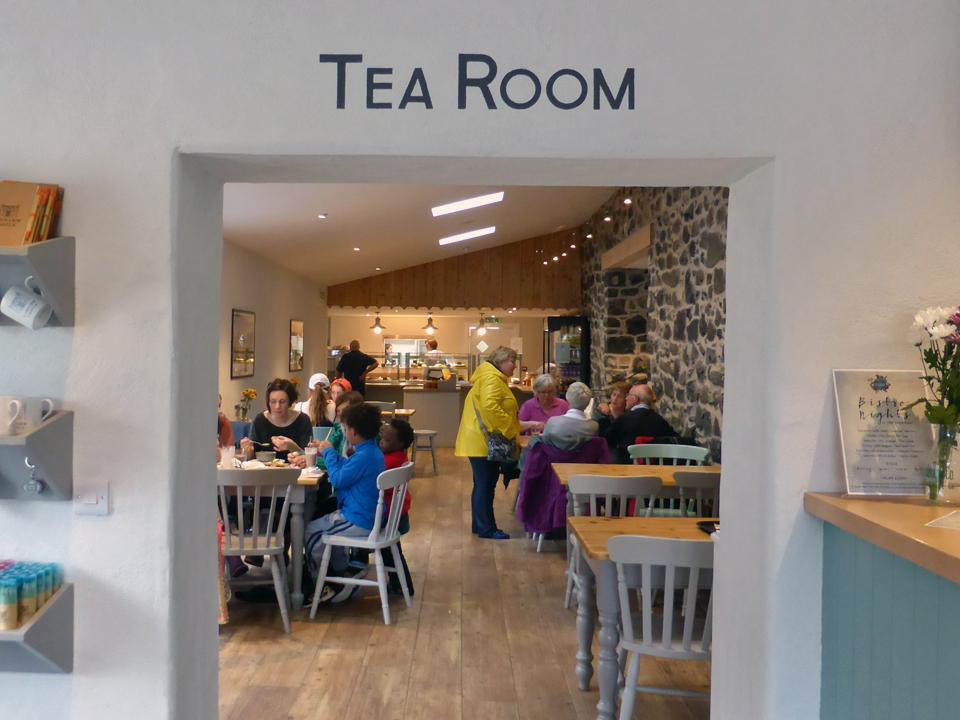Tea Room, Glenarm Castle, Coastal Causeway, Northern Ireland