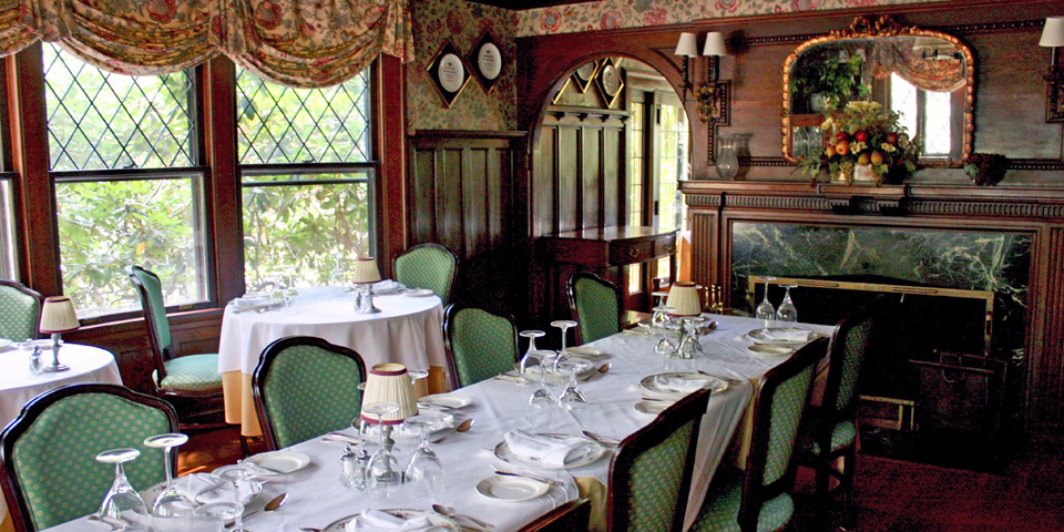 Van Horn Dining Room, The Manor on Golden Pond, Holderness, NH