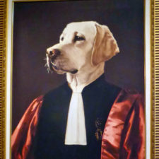 dog art, Bishop's Gate Hotel, Londonderry