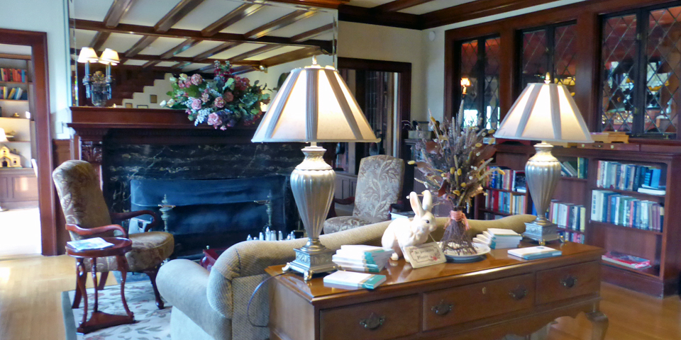 lobby, The Manor on Golden Pond, Holderness, NH