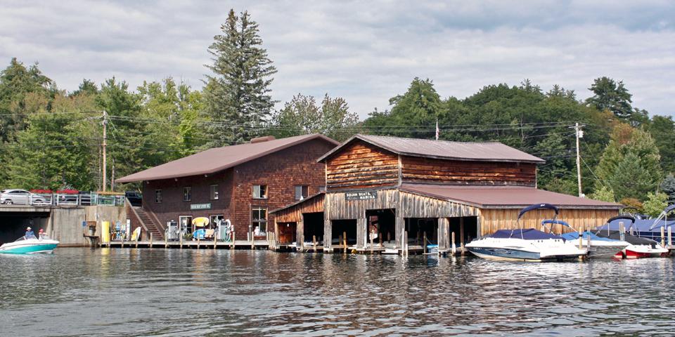 marina, Squam Lake, NH