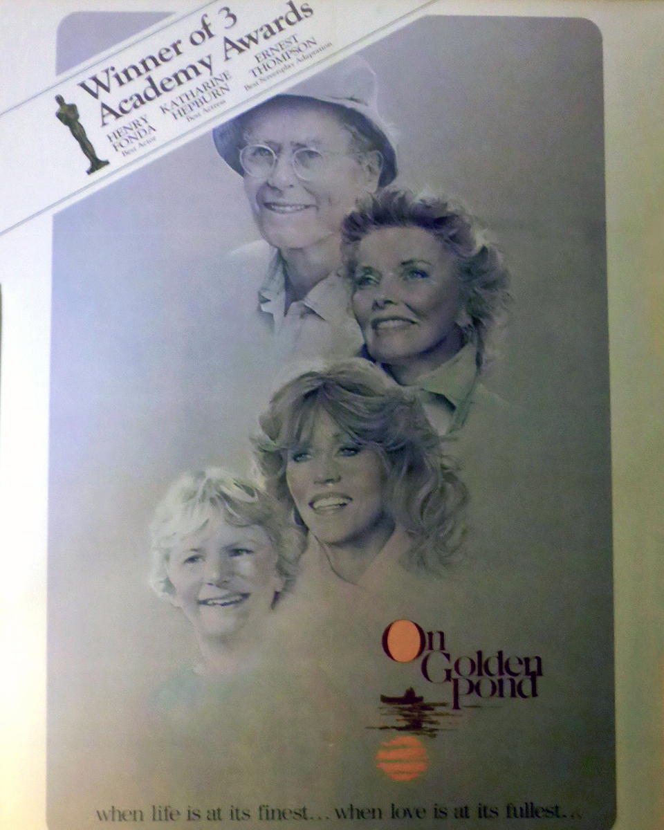 poster, On Golden Pond, at The Manor on Golden Pond, Holderness, NH