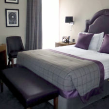 guest room in Bishop's Gate Hotel, Londonderry