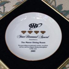 AAA 4 Diamond Award, The Manor on Golden Pond, Holderness, NH