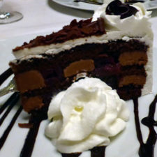 chocolate torte, The Manor on Golden Pond, Holderness, NH