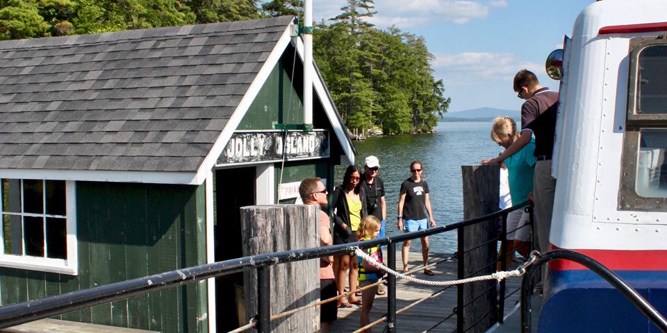 Jolly Island, Lake Winnipesaukee, NH