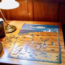 jigsaw puzzle, The Manor on Golden Pond, Holderness, NH