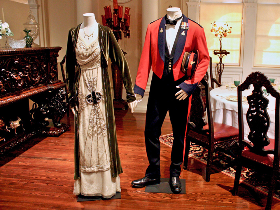 Cora and the Earl of Grantham in red jacket, Lightner Museum, St. Augustine, Florida