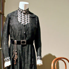 Head Housekeeper Elsie Hughes' uniform, Lightner Museum, St. Augustine, Florida
