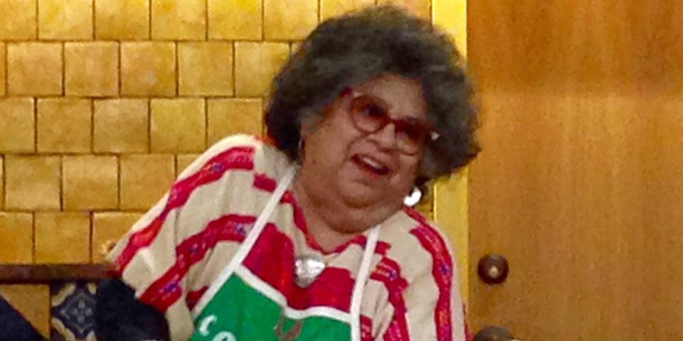 Dr. Ellen Clark, La Tamalada at the Witte Museum, San Antonio