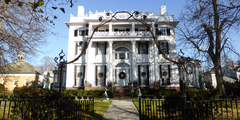 Newport for the holidays notable travels notable travels linden place bristol rhode island publicscrutiny Gallery