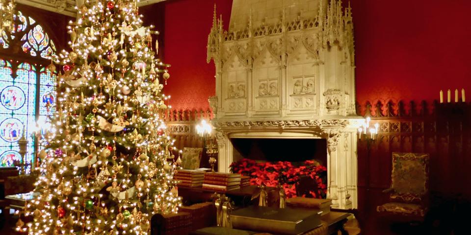 Marble House Gothic Room, Newport, Rhode Island