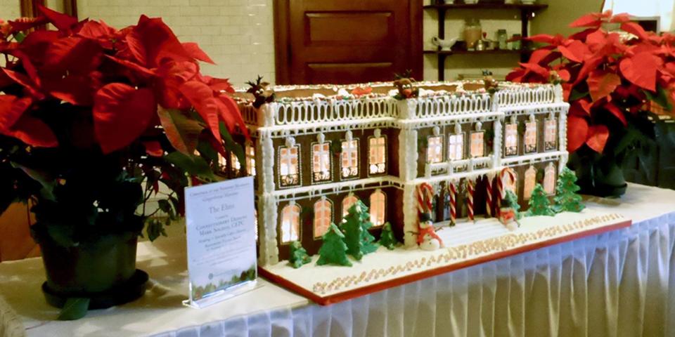 The Elms gingerbread house, Newport, Rhode Island