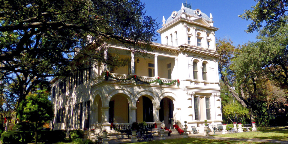 Villa Finale in the King William District of San Antonio