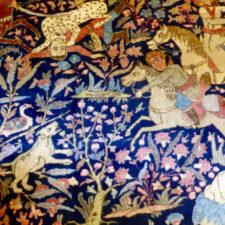 carpet detail, Villa Finale, San Antonio