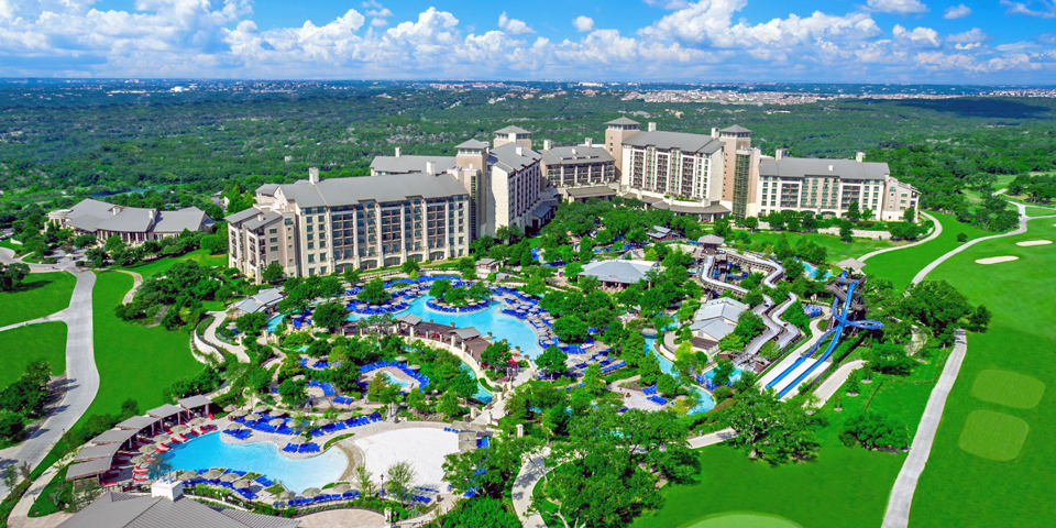 aerial view of JW Marriott San Antonio Hill Country Resort & Spa photo courtesy JW Marriott San Antonio Hill Country Resort & Spa