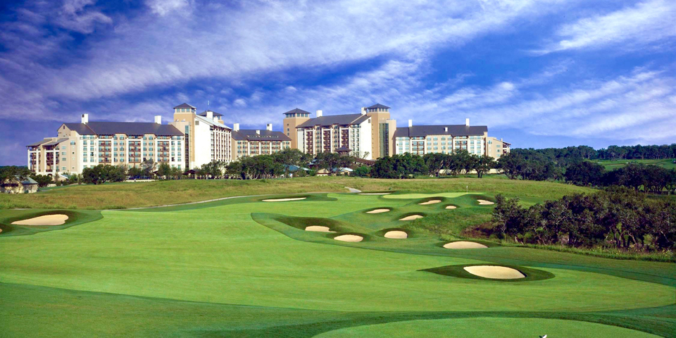 Canyons Golf Course, photo courtesy JW Marriott San Antonio Hill Country Resort and Spa