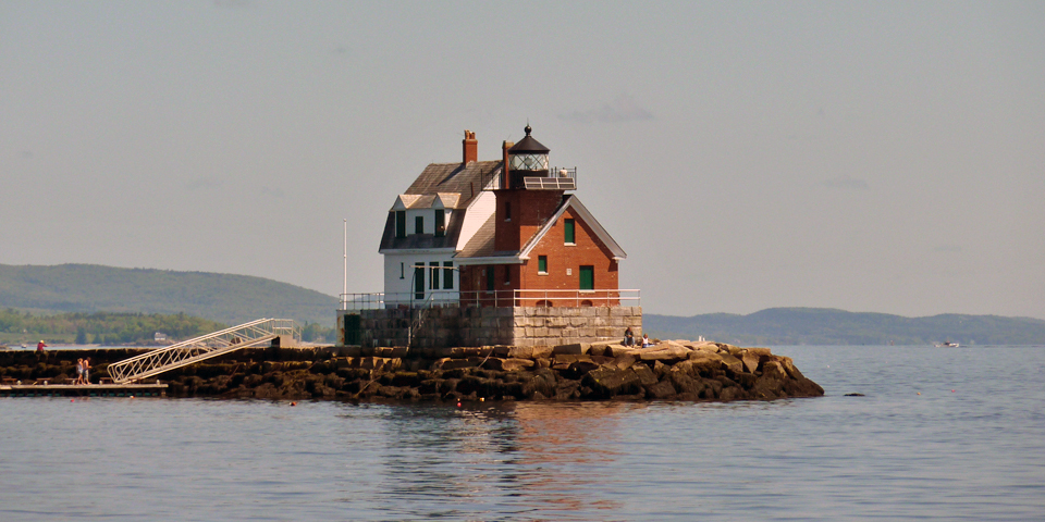 Breakwater Lighthouse, Rockland, Maine