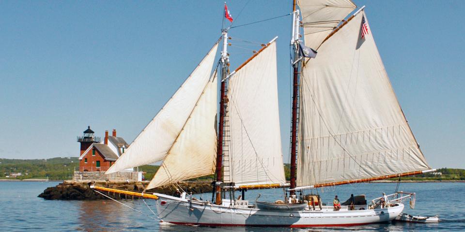 schooner, Rockland, Maine