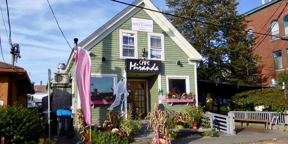 Cafe Miranda, Rockland, Maine
