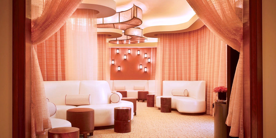 Ladies Lounge, Lantana Spa, Canyons Golf Course, photo courtesy JW Marriott San Antonio Hill Country Resort and Spa