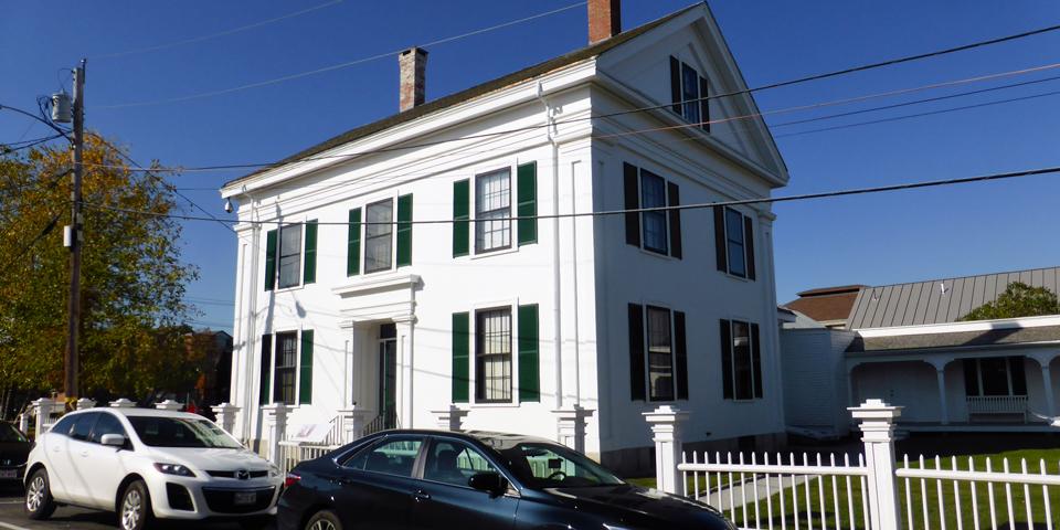 Wyeth home, Farnsworth Museum, Rockland, Maine
